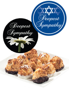 SYMPATHY /SHIVA COCONUT MACAROONS - Many Sizes /Package Options Available