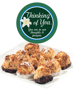 THINKING OF YOU COCONUT MACAROONS - Many Sizes /Package Options Available