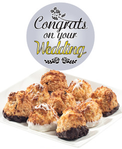 WEDDING COCONUT MACAROONS - Many Sizes /Package Options Available