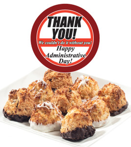 ADMINISTRATIVE ASST COCONUT MACAROONS - Many Sizes /Package Options Available