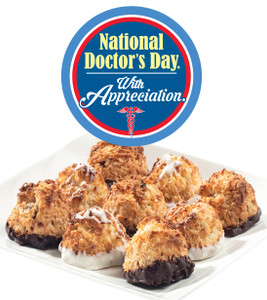 DOCTOR'S APPRECIATION  COCONUT MACAROONS - Many Sizes /Package Options Available