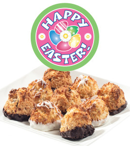 EASTER/ SPRING COCONUT MACAROONS - Many Sizes /Package Options Available