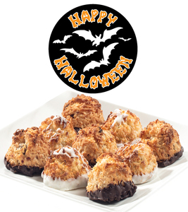 HALLOWEEN COCONUT MACAROONS - Many Sizes /Package Options Available