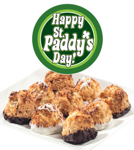 St.PATRICKS DAY COCONUT MACAROONS - Many Sizes /Package Options Available