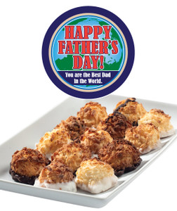 FATHER'S DAY  MINI MACAROONS - Deliciously, Bite-Sized - each .5 oz