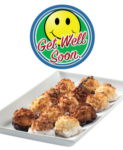 GET WELL MINI MACAROONS - Deliciously, Bite-Sized - each .5 oz