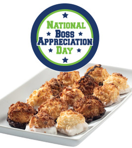 BOSS APPRECIATION MINI MACAROONS - Deliciously, Bite-Sized - each .5 oz