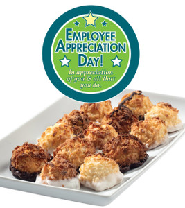 EMPLOYEE APPRECIATION MINI MACAROONS - Deliciously, Bite-Sized - each .5 oz