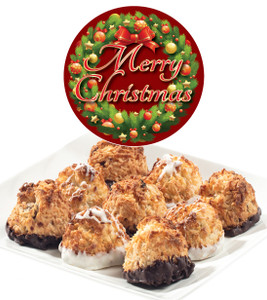 CHRISTMAS COCONUT MACAROONS - Many Sizes /Package Options Available