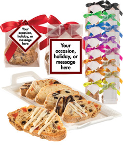 BISCOTTI FAVOR BAGS - Many sizes available