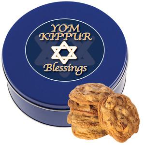 YOM KIPPUR Chocolate Chip Cookie Tin - 1 lb.