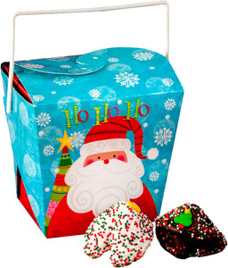 CHRISTMAS - Chocolate Fortune Cookies - CHRISTMAS BOX