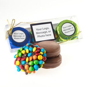 M&M  & CHOCOLATE OREO TRIO - Create Your Own