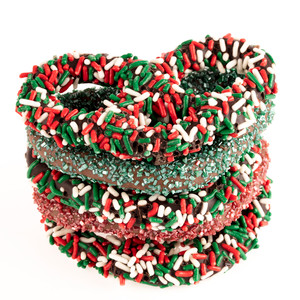 CHRISTMAS GOURMET PRETZELS - Many Sizes Available from $1.99+