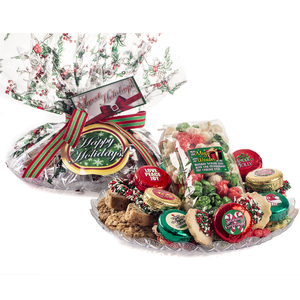 CHRISTMAS  PopCorn & 'Cookie Talk' Message Platters