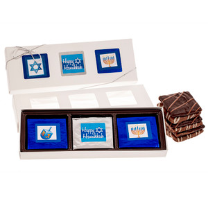 Hanukkah 6 Pc Chocolate Graham  Gift Box