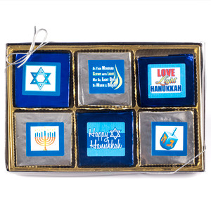 Hanukkah 12 Pc Chocolate Graham  Gift Box