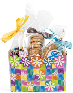 GIFT BASKET BOX OF GOURMET TREATS - Medium