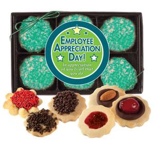 EMPLOYEE APPRECIATION BUTTER COOKIES - 12 Cookies