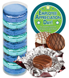 EMPLOYEE APPRECIATION DAY  CHOCOLATE OREOS - 9 Pc.Cylinder