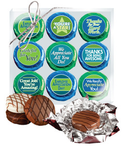 "EMPLOYEE APPRECIATION  ""COOKIE TALK"" CHOCOLATE OREO 9 PC. GIFT PACK"