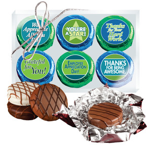 EMPLOYEE APPRECIATION  - CHOCOLATE OREO 6 Pc GIFT BOX