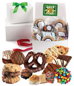 ST PATRICKS DAY BOX OF TREATS - Medium or Large  Size  Available