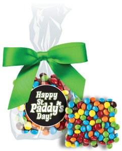ST. PATRICKS DAY  CHOCOLATE GRAHAMS w/ MINI M&Ms