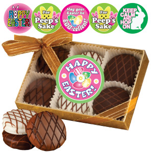EASTER/ SPRING CHOCOLATE DRIZZLED OREO 6 PK.