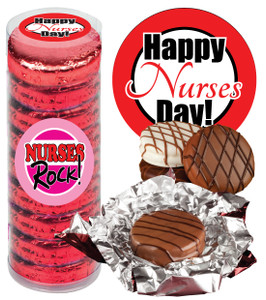 NURSE APPRECIATION CHOCOLATE OREOS - 9 Pc.Cylinder