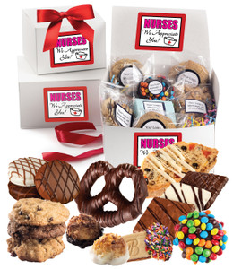 NURSE APPRECIATION BOX OF TREATS - Medium or Large  Size  Available