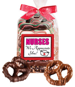 NURSE APPRECIATION Gourmet Pretzel Bag - 8 Pc