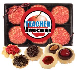 TEACHER APPRECIATION - BUTTER COOKIES - 12 Cookies