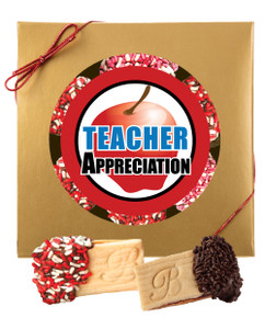 TEACHER APPRECIATION RASPBERRY SANDWICH BUTTER COOKIES