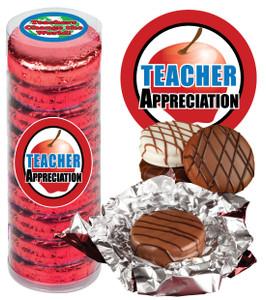 TEACHER APPRECIATION 'COOKIE TALK' CHOCOLATE OREOS - 9 Pc.CYLINDER