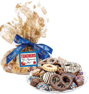 TEACHER APPRECIATION  COOKIE ASSORTMENT SUPREME - Cookies, Pretzel & Candy