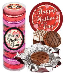 "MOTHERS DAY -  ""COOKIE TALK"" CHOCOLATE OREOS  9 Pc. CYLINDER"