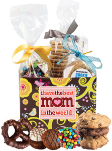 MOTHERS DAY - BASKET BOX OF GOURMET TREATS