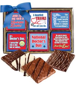 DOCTOR PROFESSIONAL - 12 Pc Chocolate Graham  Gift Box