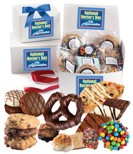 DOCTOR APPRECIATION BOX OF TREATS - Medium or Large  Size  Available
