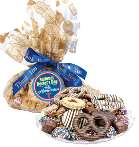 DOCTOR APPRECIATION  COOKIE ASSORTMENT SUPREME - Cookies, Pretzel & Candy