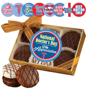 DOCTOR  CHOCOLATE DRIZZLED OREO 6 PK.