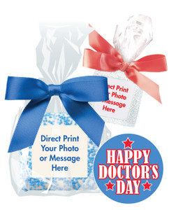 DOCTOR  APPRECIATION CUSTOM PRINTED CHOCOLATE GRAHAM COOKIES - SPECIAL ORDER