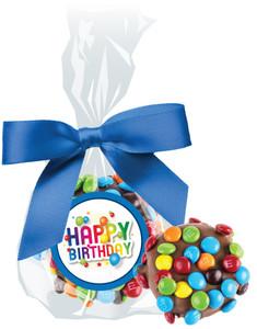 BIRTHDAY - CHOCOLATE  OREOs W/ M&Ms