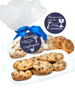COMMUNION/ CONFIRMATION - BUTTER  CHOCOLATE CHIP COOKIES