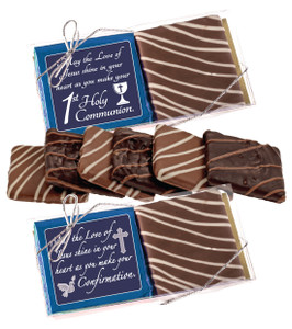 "COMMUNION/ CONFIRMATION - ""COOKIE TALK"" CHOCOLATE GRAHAM DUO"