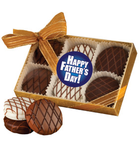 FATHERS DAY   CHOCOLATE DRIZZLED OREO 6 PK.