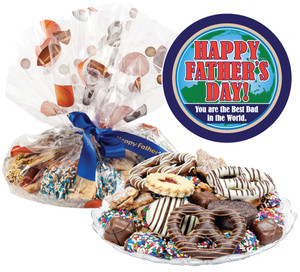 FATHERS DAY COOKIE ASSORTMENT SUPREME - Cookies, Pretzel & Candy
