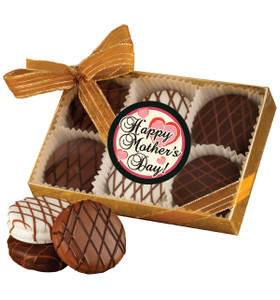 MOTHERS DAY - CHOCOLATE DRIZZLED OREO 6 PK.