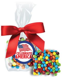 CELEBRATE AMERICA  CHOCOLATE GRAHAMS w/ M&Ms